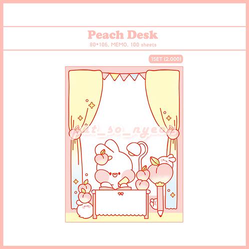 peach desk (70g)