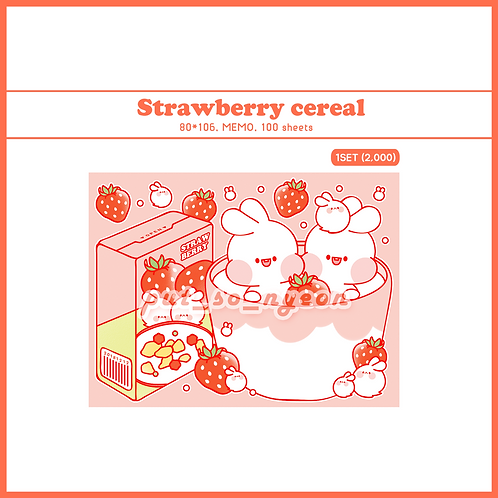 cereal strawberry (70g)