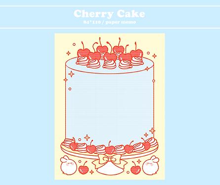 cherry cake (70g)