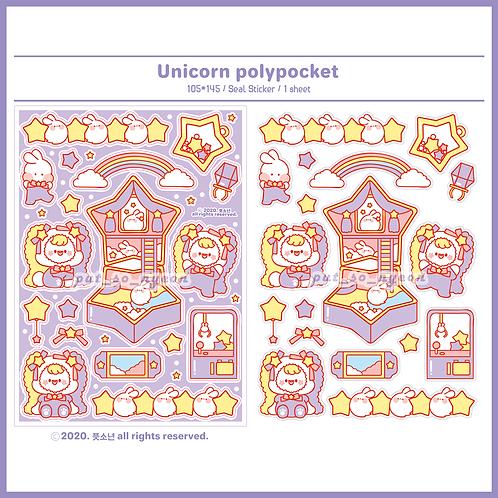 polypocket  unicorn (5g)