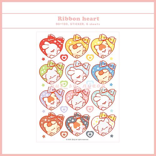 heart ribbon (30g)