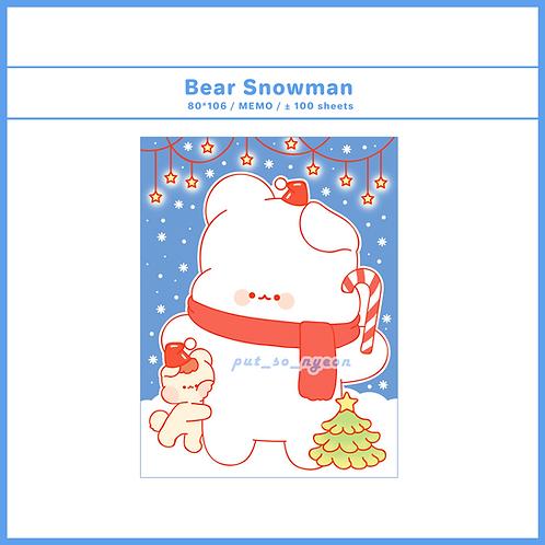 christmas snowman (70g)