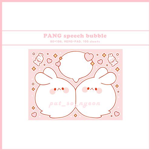 PANG speech bubble (70g)