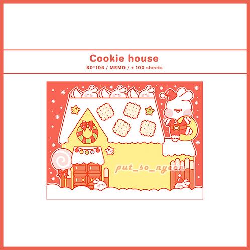 christmas cookie house (70g)