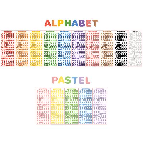 alphabet seal pack (50g)
