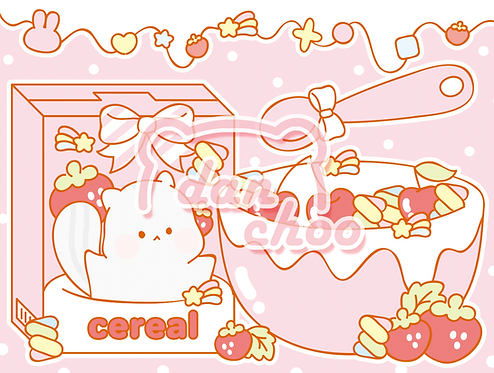 pink porong cereal (70g)