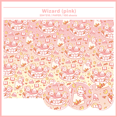 paper : wizard pink