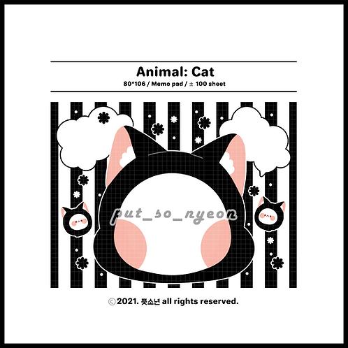 animal : black cat (70g)