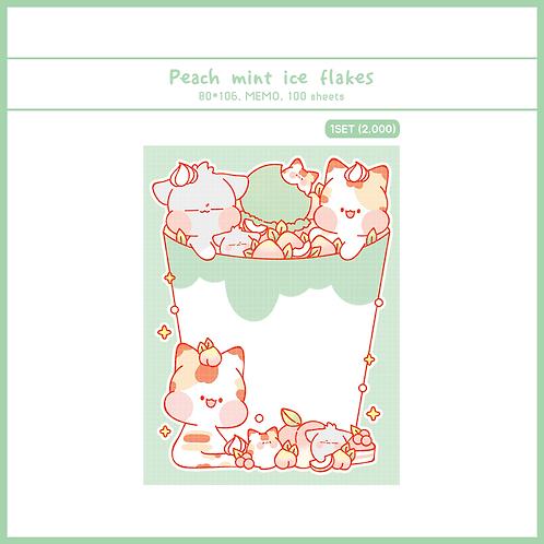 ice flakes peach (70g)