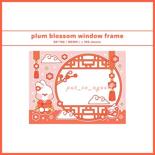 window plum blossom (70g)