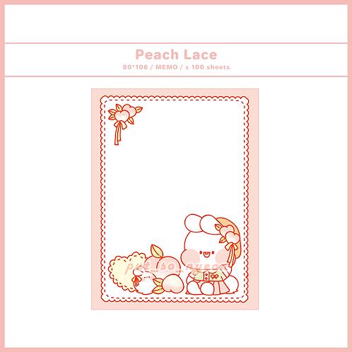 peach lace (70g)