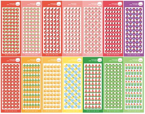 fruit alphabet seal pack (70g)