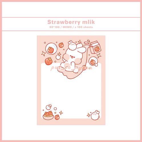 strawberry milk (70g)