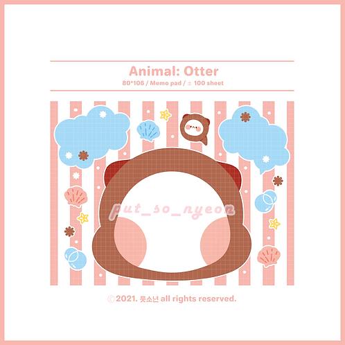 animal : otter (70g)