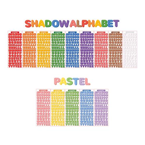 shadow alphabet seal pack (45g)