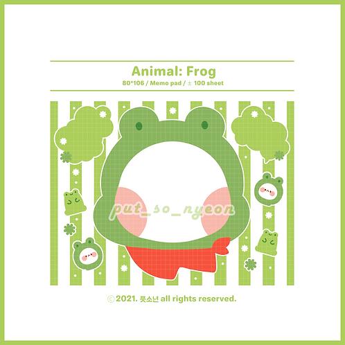 animal : frog (70g)