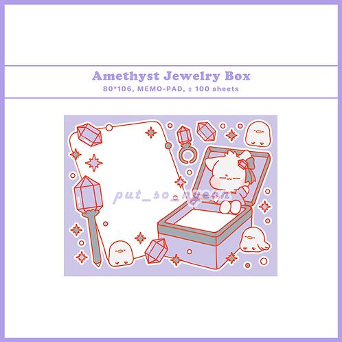 jewelry box amethyst (70g)
