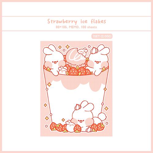 ice flakes strawberry (70g)