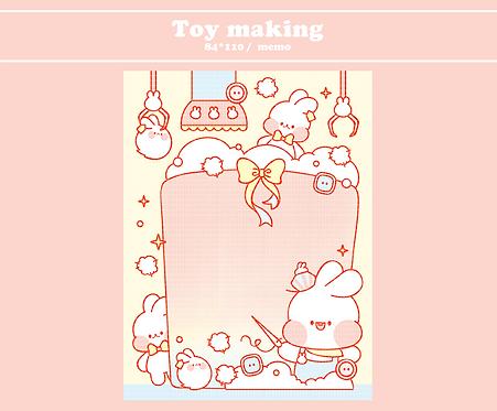 toy making (70g)