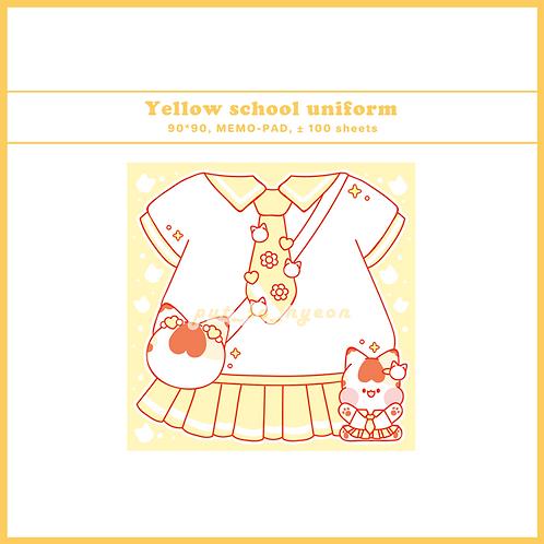 school uniform yellow (70g)