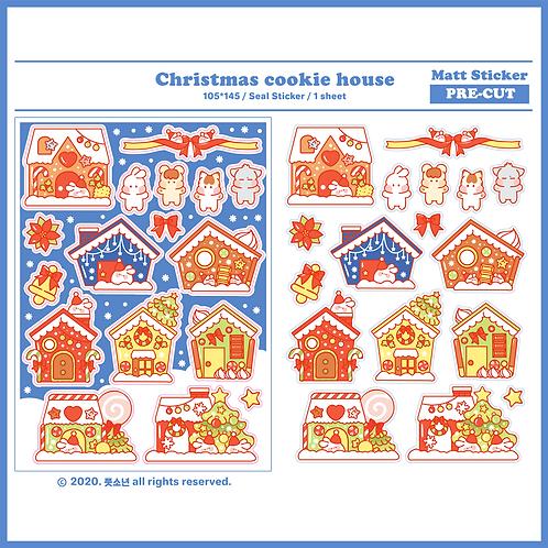 Christmas cookie house (5g)