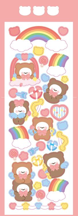 cupid heart bear (5g)