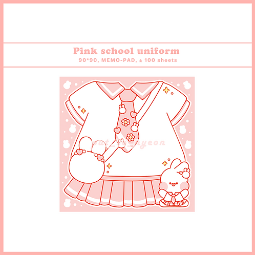 school uniform pink  (70g)