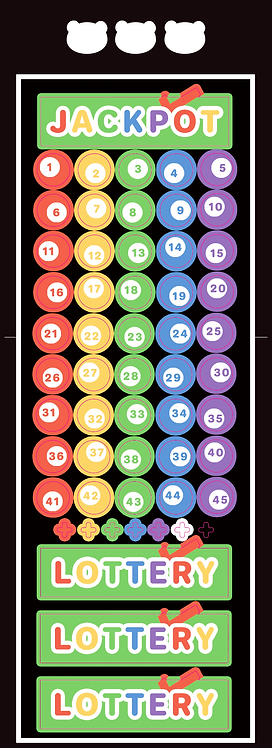 lottery number (5g)
