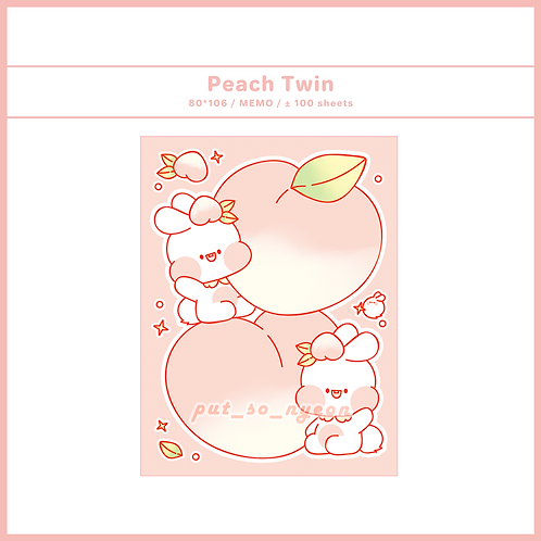 peach twin (70g)