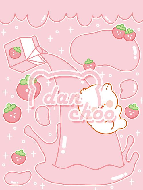pink milk slide (70g)