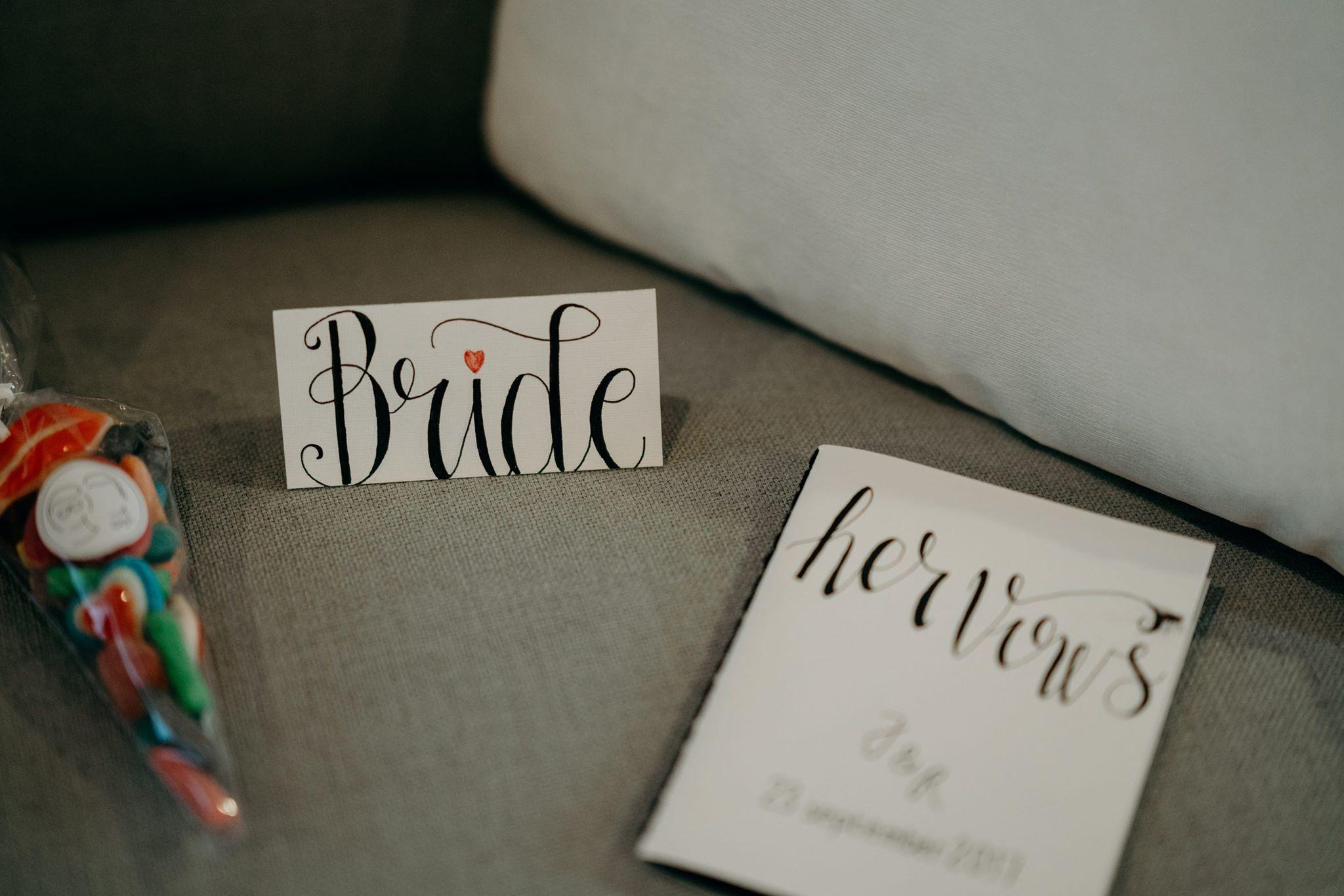 Gelofteboekje Bruid
