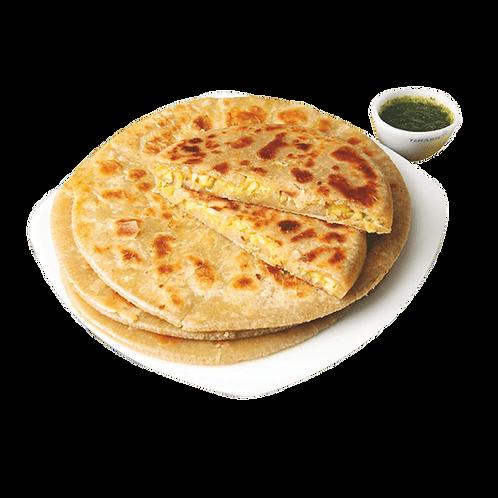 Gobi Paratha with Curd & Butter