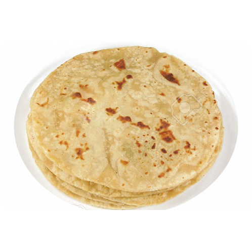 Simple Paratha with Curd & Butter