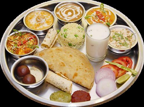 Punjabi Deluxe Thali
