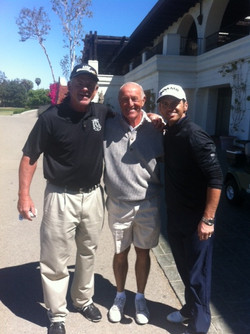 Pat with Len Goodman,Tony Dovolani