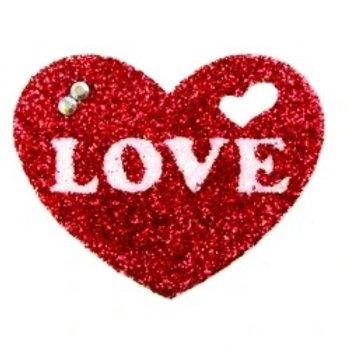 Tatuagem Adesiva - Linha Sexy Coração Love