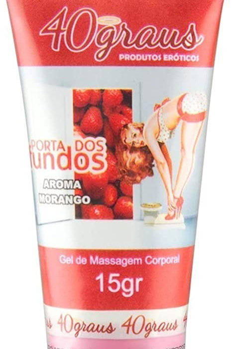 Porta Dos Fundos Anestesico -Aroma Morango