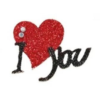 Tatuagem Adesiva - Linha Sexy Coração I YOU