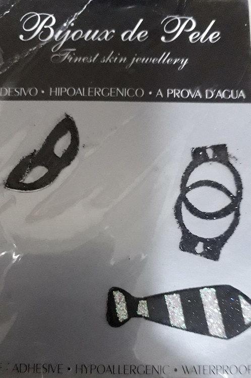 Tatuagem Adesiva - Gravata