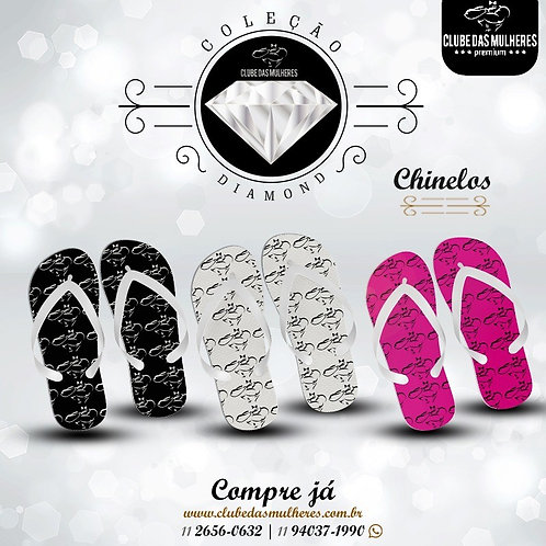 Chinelos Strong - Clube das Mulheres