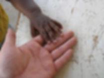 Jonathan de Patoul main dans la main