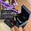 Thumbnail: Genuine Leather (Black) Oxidised Bracelet - Size 8 inch