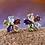 Thumbnail: Amethyst (Pear), Citrine, Hebei Peridot, Mozambique Garnet and Sky Blue Topaz Fl