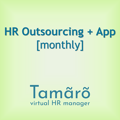 HR Outsourcing + App [monthly]