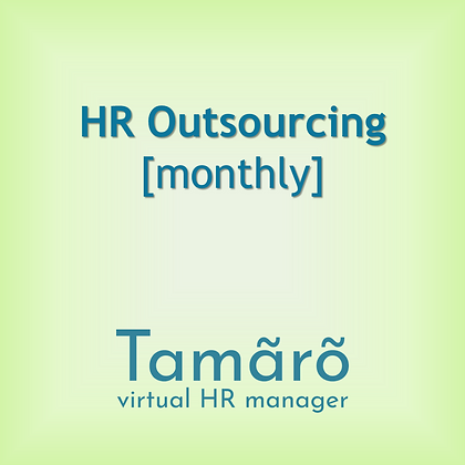 HR Outsourcing [monthly]