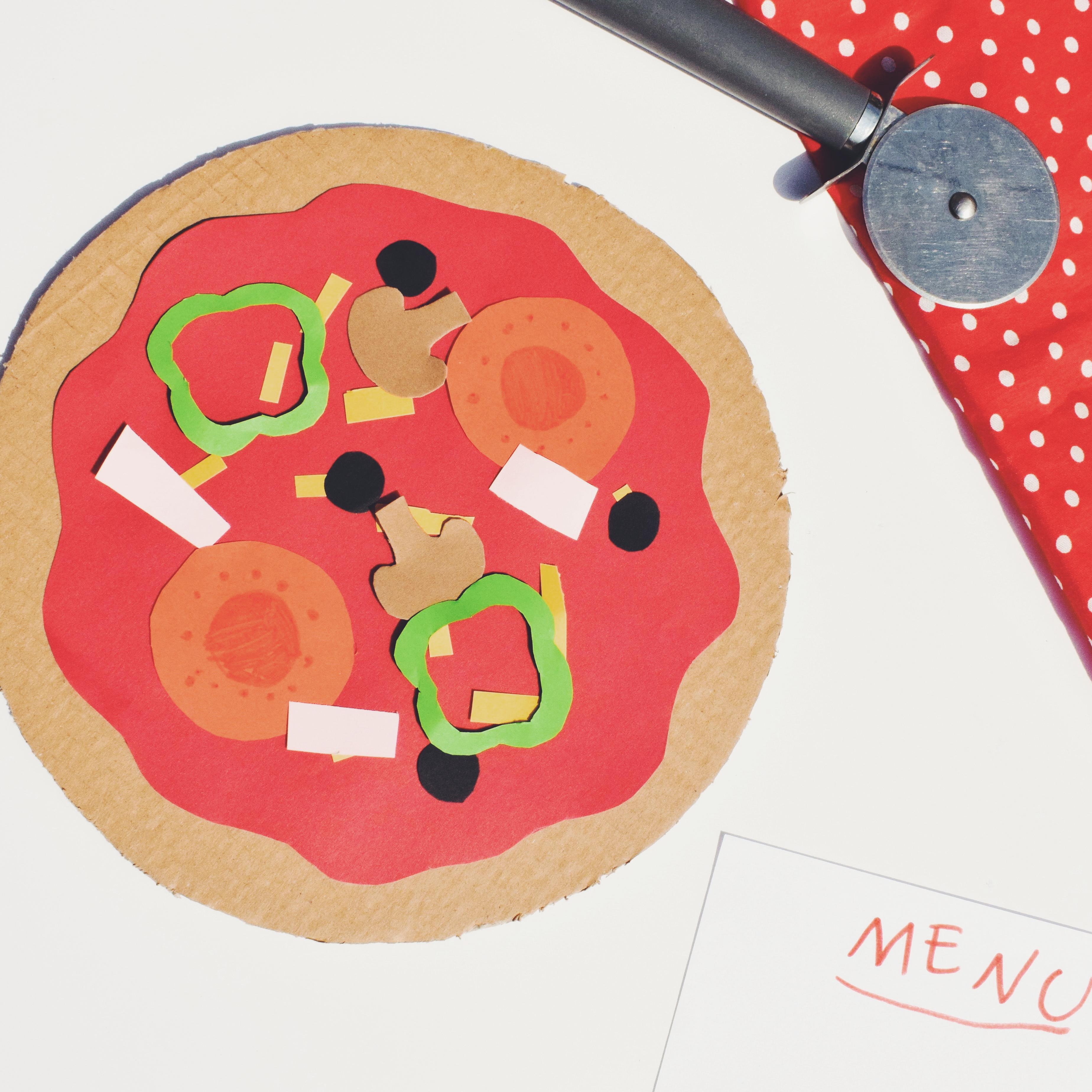 Pizza en carton