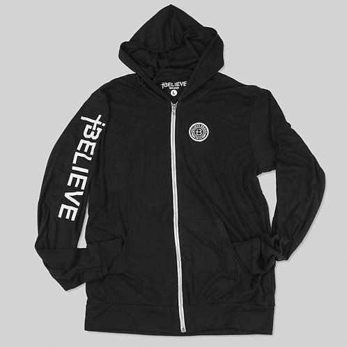 Premium Black Zip up Hoodie