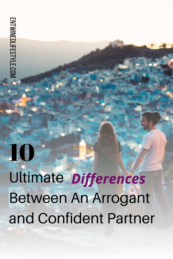 Is your partner charming, fun, and seems to have it all together? What if we told you they were overcompensating for what they don't have. Find out if your partner is confident or arrogant. #relationships #toxic #narcissist #relationshipgoals #relationshiptips #loveadvice