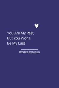 This relationship may not have worked out, but doesn't mean it will be your last. Never give up on your own love goals because one person couldn't meet your needs. Letting go of the past will allow you to find love again. Your happiness comes from within, not him. #breakupquotes #positivemindset #relationships #dating