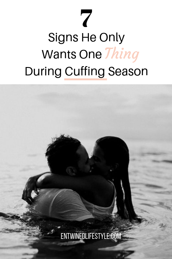 Do you feel like he is using you? Find out if he is here for the long-haul or is only sticking around because it's cuffing season. Here are 7 signs he's using you during cuffing season. #cuffingseason #datingadvice #relationshipadvice #relationships #advice #selfhelp